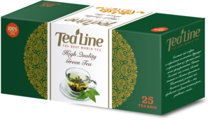 Tea Line. High Quality Green Tea карт.пачка, 25 пак.