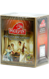 Mervin. English Breakfast 125 гр. карт.пачка