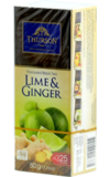 Thurson. Lime&Ginger карт.пачка, 25 пак.