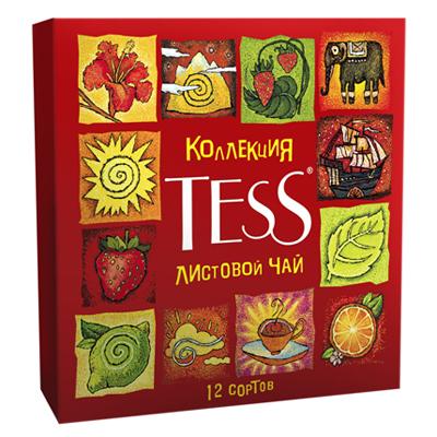 Набор чая tess ассорти