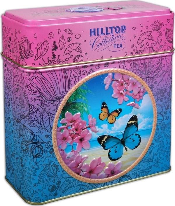 Изображение товара hilltop земляника со сливками листовой чай в музыкальной шкатулке, 125 г подробнее о hilltop