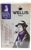 WELLIS. Earl Grey 200 гр. карт.пачка