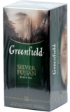 Greenfield. Silver Fujian карт.пачка, 25 пак.