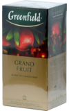 Greenfield. Grand Fruit карт.пачка, 25 пак.