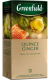Greenfield. Quince Ginger карт.пачка, 25 пак.
